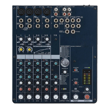 MG82CX 8-Input Stereo Mixer with Digital Effects