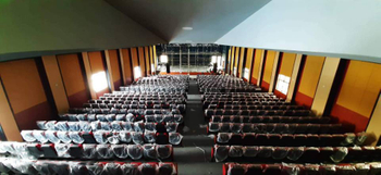 LA208 Active Line Aarray Sound System Installed in an Auditorium