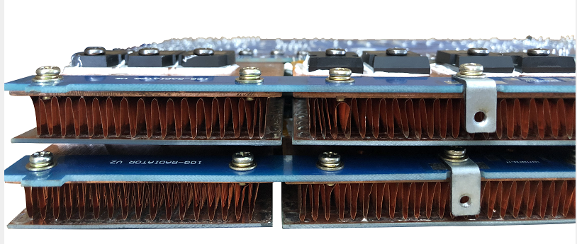 100% pure copper heatsink of sanway amplifier